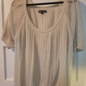 Shimmery Slouchy Express Sweater